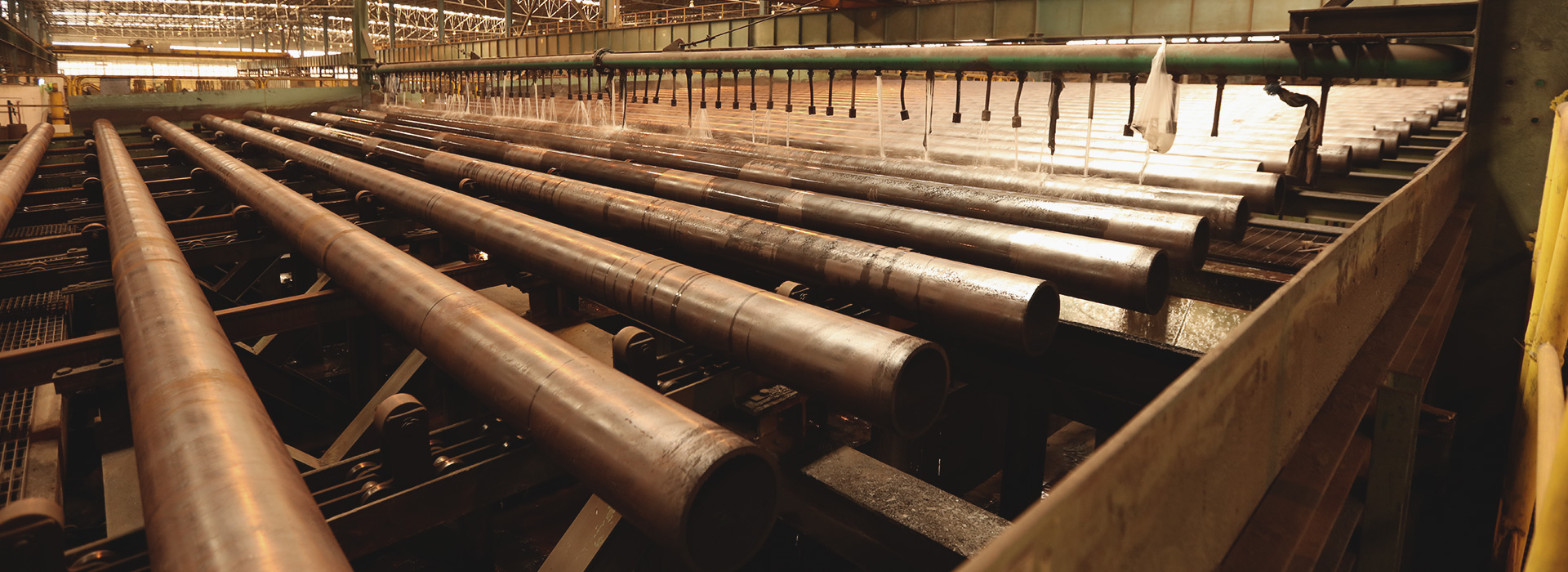 We are producing the highest quality seamless (SMLS) steel pipes
